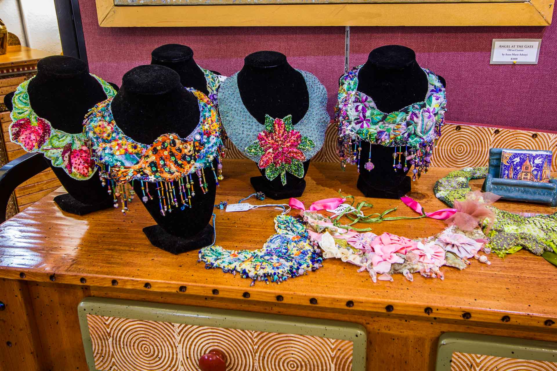 Anne Marie Andonyi Cloth Neck Pieces