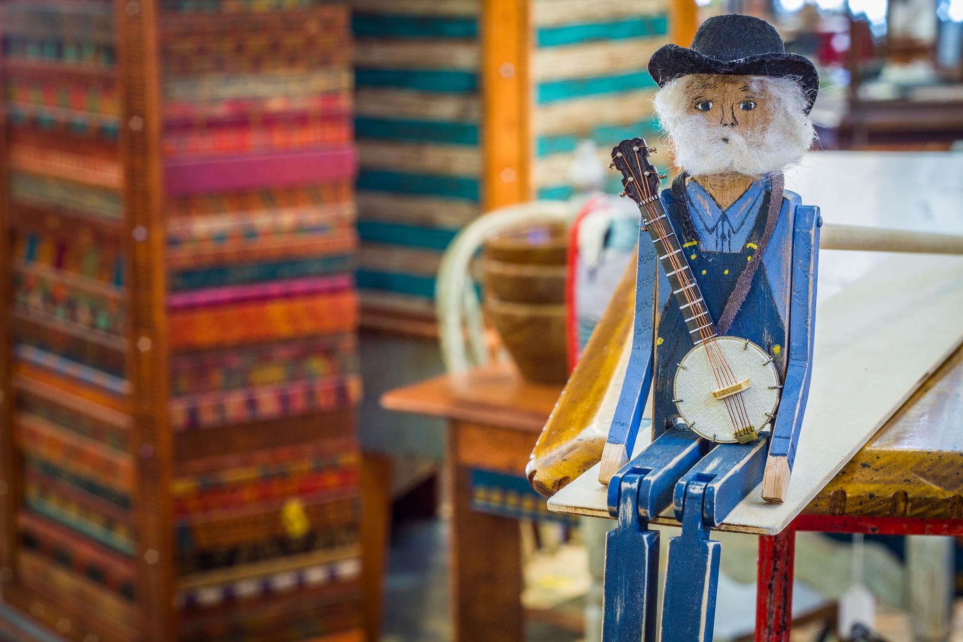 Banjo Man Limberjack by Linda Ewing