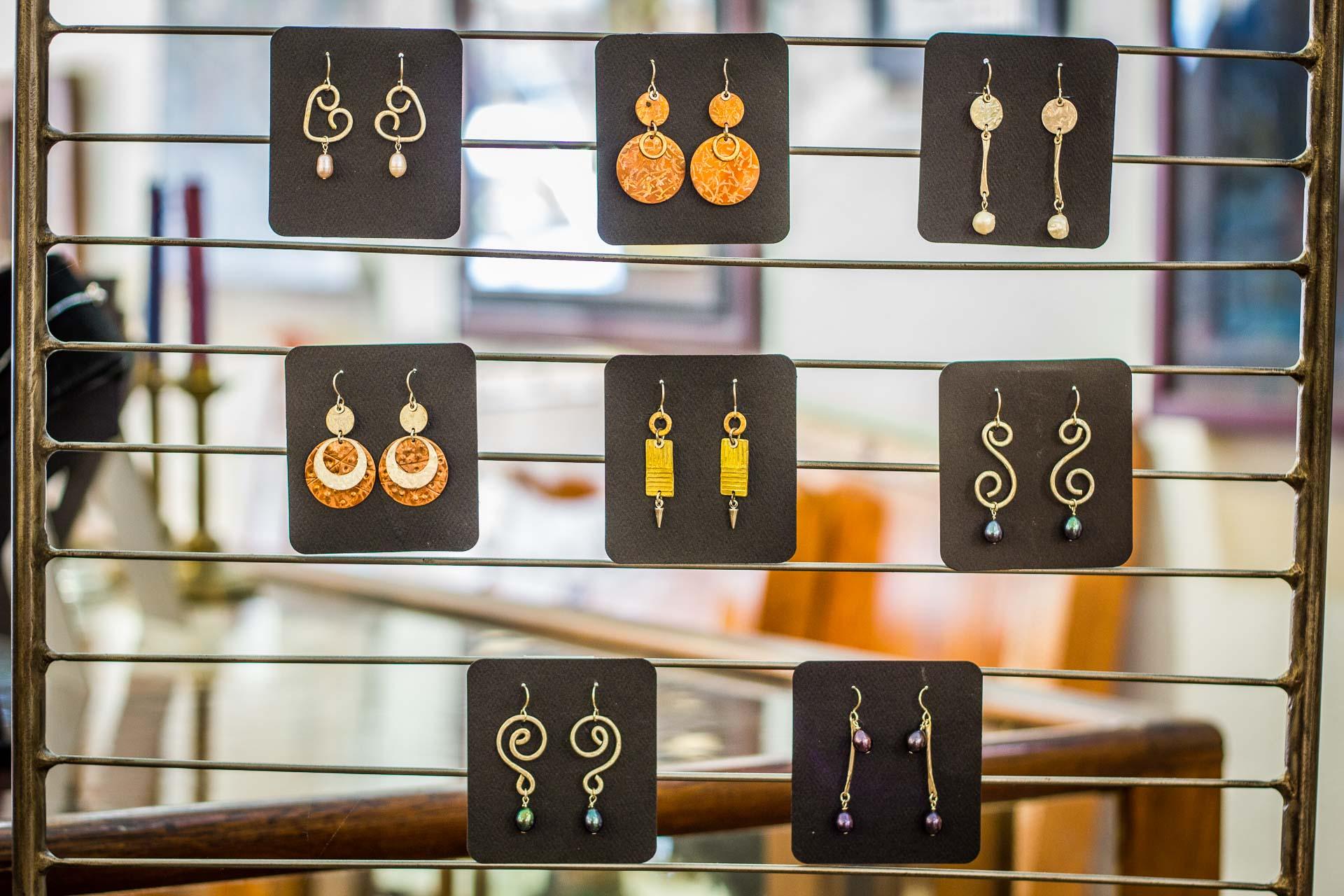 Earrings by Susie Hettleman